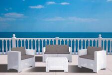 Set Da Giardino In Rattan Bianco.Set Da Giardino In Rattan Acquisti Online Su Ebay