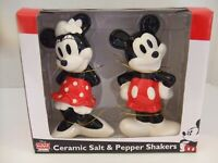 Disney Mickey Mouse & Minnie Mouse Salt & Pepper Shakers, Collectible