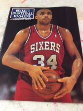 Beckett Basketball Magazine Monthly Price Guide October 1990 Charles Barkley