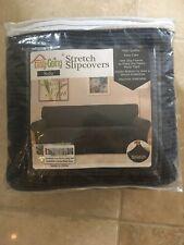 Easy-Going Oversized Sofa Stretch Slipcover Dark Gray Machine Washable