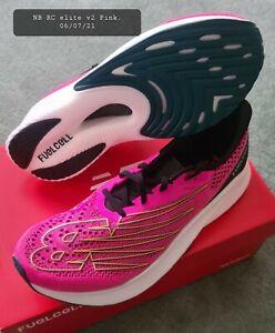 New Balance fuelcell RC elite v2 men's running shoes. UK 10½