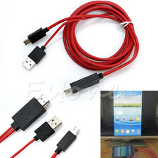 2M Micro USB MHL To HDMI Cable HD 1080P For Samsung Galaxy Note 3 S4 S5 New