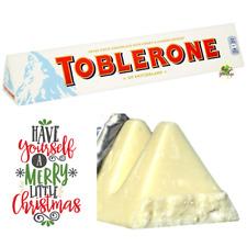 🎁🎄GIANT TOBLERONE WHITE CHOCOLATE 360g Christmas Present Birthday Gift🎄🎁