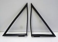 FORD ESCORT Mk2 FRONT 2 DOOR COUPE 1/4 QUARTER RALLY PAK WINDOW RUBBERS