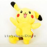 """Pokemon Pikachu 10.5"""" Collectible Soft Cute Stuffed Doll Plush Toy Kid Gift"""