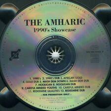 The Amharic - 1990's Showcase ° PROMO-CD von 1995 ° FAST WIE NEU ° TOP-RARITÄT °