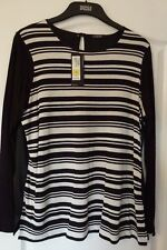 Marks & Spencer's Ladies Black & White Top