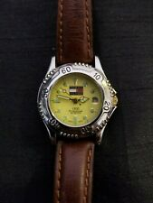 Ladies TOMMY HILFIGER Watch (Brown/Silver/Yellow): VERY GOOD QUALITY W/BATTERY!