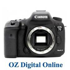 NEW Canon EOS 7D Mark II Mk2 20.2MP Digital SLR Camera Body 1 Year Au Wty