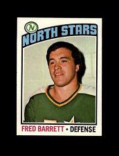1976-77 Topps Hockey #249 Fred Barrett (North Stars) NM+