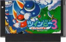 TWINBEE 3 III FAMICOM STINGER KONAMI NES FC JAPAN