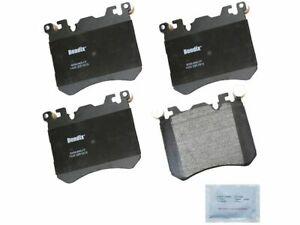 Front Brake Pad Set Bendix 1RKM89 for BMW X5 X6 2010 2011 2012 2013