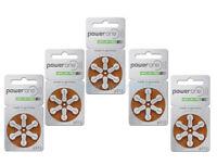 Powerone Hearing Aid 312 Genuine Batteries German Made,Multiple Lot 30-300- 2023