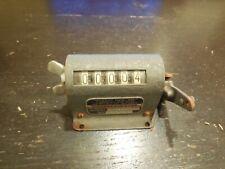 Vintage Durant Mfg. Co, Productimeter Counter Model 5-D-1 No.4-50.