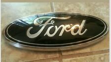 """2011-2016 Ford F250 F350 Super Duty Grill 13"""" GLOSS Black  Emblem custom"""