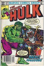Incredible Hulk #271 (1st Full App Rocket Raccoon) Grade 5.4 VG Holo #640