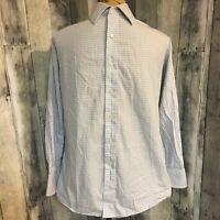 Michael Kors Men's 100% Cotton Regular Fit Long Sleeve Dress Shirt
