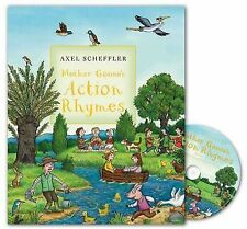 Mother Goose's Action Rhymes Book and CD Pack, , New Book