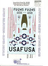 Superscale Decal 48-955 N.A. F-86D-35-NA Sabre