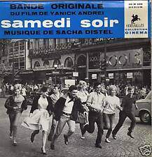 "SACHA DISTEL SAMEDI SOIR FRENCH ORIG OST EP 45 PS 7"""