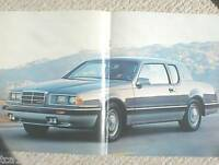 1985 Mercury COUGAR Brochure / Catalog / Pamphlet : LS, XR-7,XR7