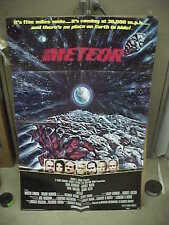 METEOR, nr mint orig 1-sht / movie poster [Sean Connery, Natalie Wood] - 1979