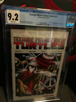 Teenage Mutant Ninja Turtles 21 CGC 9.2 NM- WP