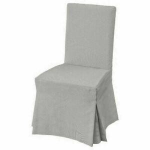 Ikea Henriksdal Long Chair Cover, Ramna Light Grey 503.708.95