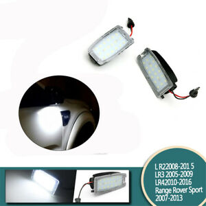 2Pcs Fit For Land Rover Range Rover Auto Rearview Mirror Side Led Lights Lamps