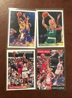 Lot 1992 1993 Upper Deck Basketball (30 cards) Bird, Jordan, Barkley, Magic NRMT