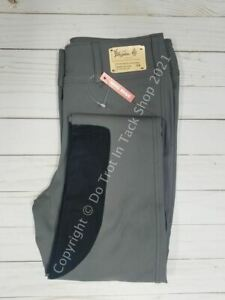 Tailored Sportsman Ladies Vintage Trophy Hunter - Front Zip Mid-Rise - Titanium/