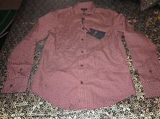 Armani Jeans Button Front Shirt XXLarge  Custom Fit $ 175