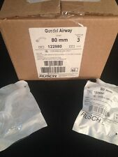 NEW BOX OF 50 RUSCH Guedel Airway Size 3 80mm REF 122980