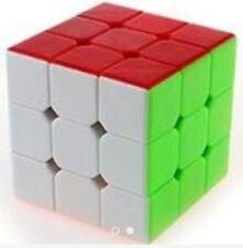 Rubik's Cube Brain teasers Speed Stickerless Yongjun Magic Cube 3x3x3 Puzzles YJ
