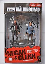 McFarlane The Walking Dead 2-er Set Actionfiguren-Negan & Glenn+Zubehör ca.12 cm