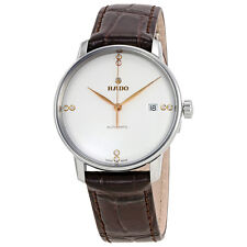 Rado Coupole Classic L White Dial Diamond Automatic Mens Watch R22860725
