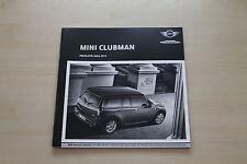 171887) Mini Clubman - Preise & Extras - Prospekt 03/2012