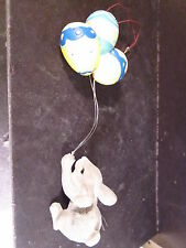 Charming Tails Rabbit With Easter Egg Balloons Ornament