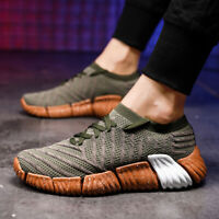 Mens Lightweight Running Shoes Athletic Sneakers Breathable Sports Walking Shoes