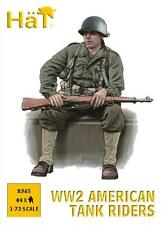 HAT 1/72 (20mm) WWII American Tank Riders Figures Kit / Wargaming - 8265