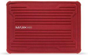 """MAX CASES 13"""" RUGGED LAPTOP TABLET SLEEVE MACBOOK ULTRABOOK ELITEBOOK RED NEW"""