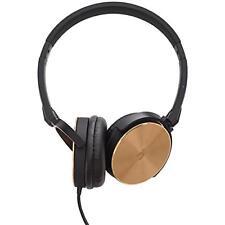NEW Hoomia U3-CLASSIC GB On-Ear Stereo Headphone with Microphone, Black/Gold
