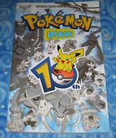New Pokemon Fan 10th Anniversary Special Issue with Exclusive Pikachu Sticker