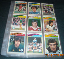 TOPPS 1978 COMPLETE SET-396/396 CARDS-GOOD CONDITION