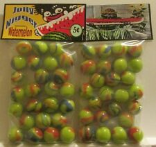 2 Bags Of Jolly Negro 5 Cent Watermelon Promo Marbles