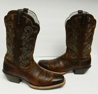 Ariat Legend Brown Rowdy Boots 10001046 Western Cowboy Women's US 9 C