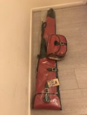 New Pink Leather Gun Case/Slip for Short Gun