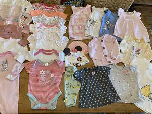 GIRL 0-3 MONTHS CLOTHES BUNDLE (2)