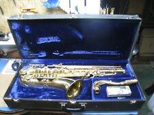 Vintage Yanagisawa Tenor Saxophone w/ Case - Will Need Restoration !!