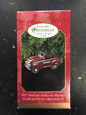 1997 Hallmark Keepsake 1937 Steelcraft Airflow by Murray Ornament - Nice!